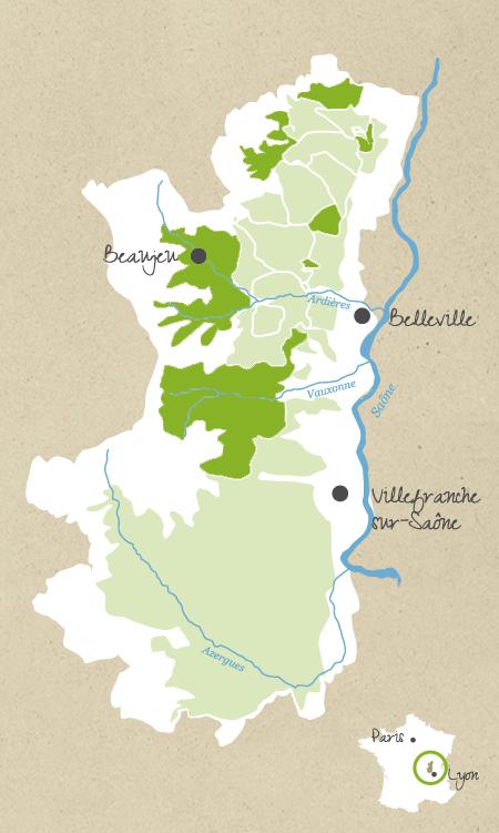 Les Appellations Vins Du Beaujolais
