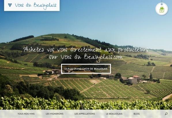 Le site de référence des Vins du Beaujolais s'embellit !